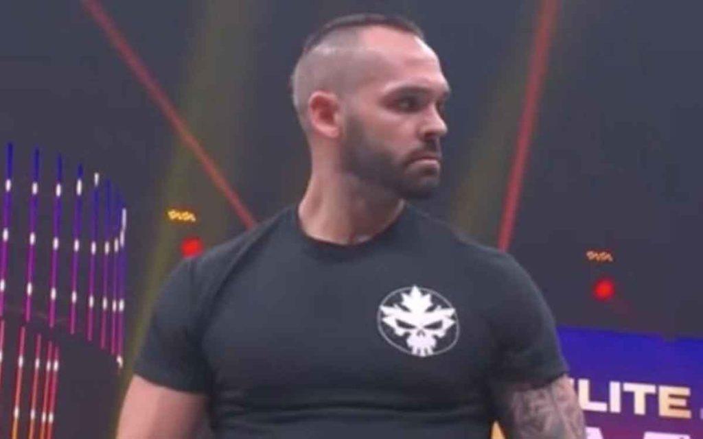 pro wrestler Shawn Spears