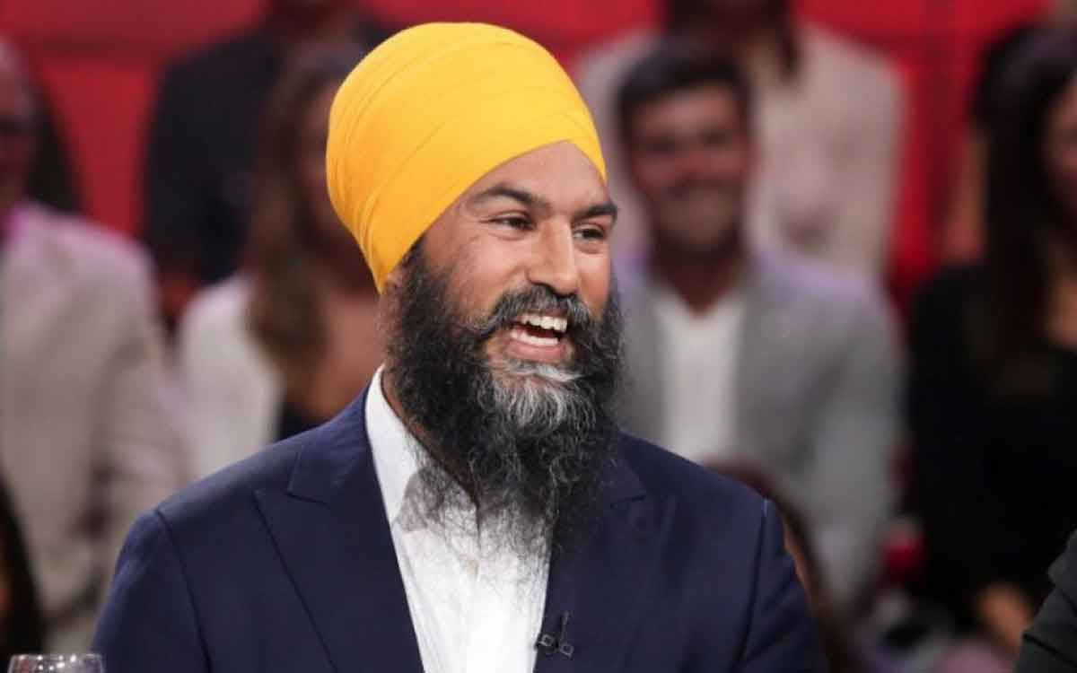 NDP Leader Singh MP