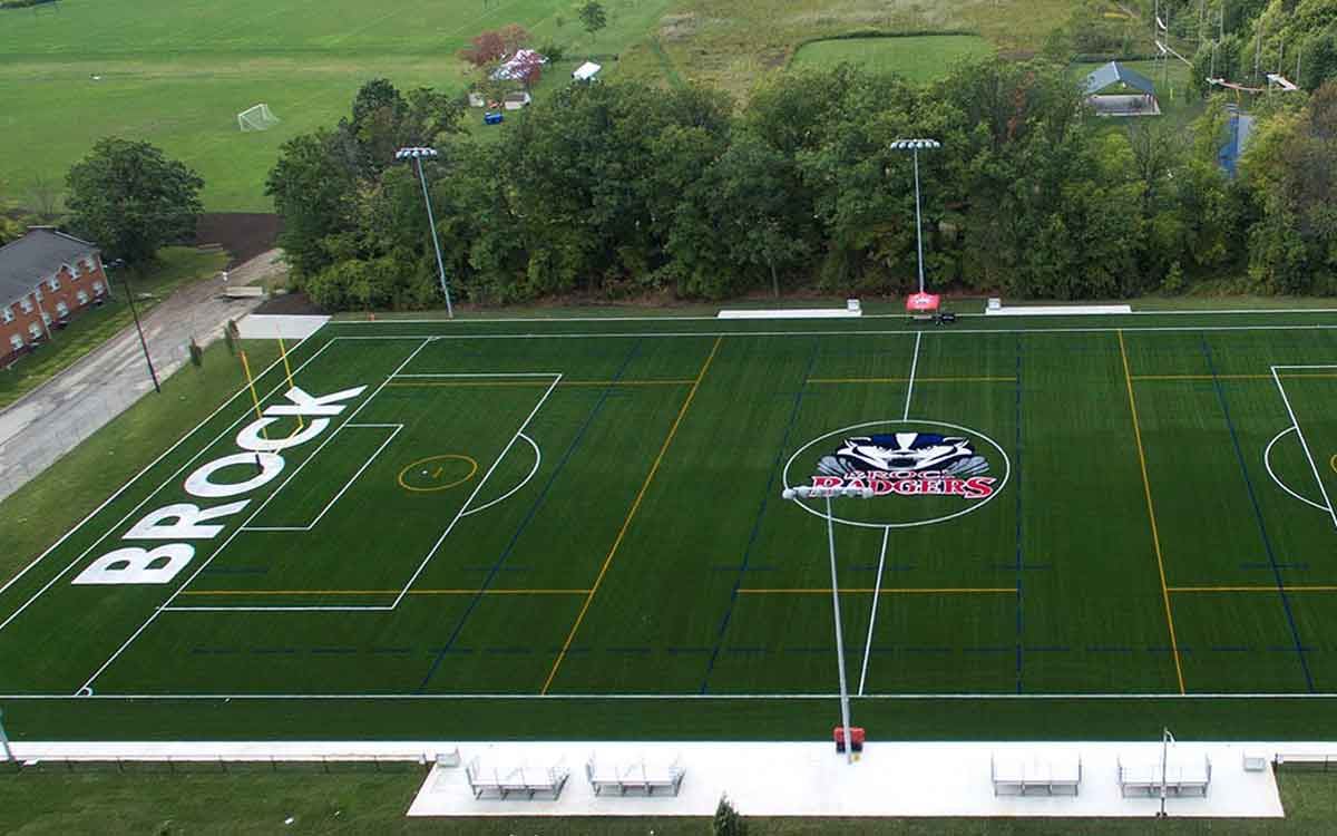 Brock University's Alumni Field