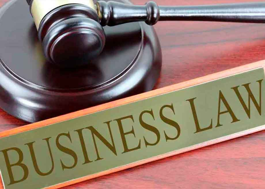 business law sign