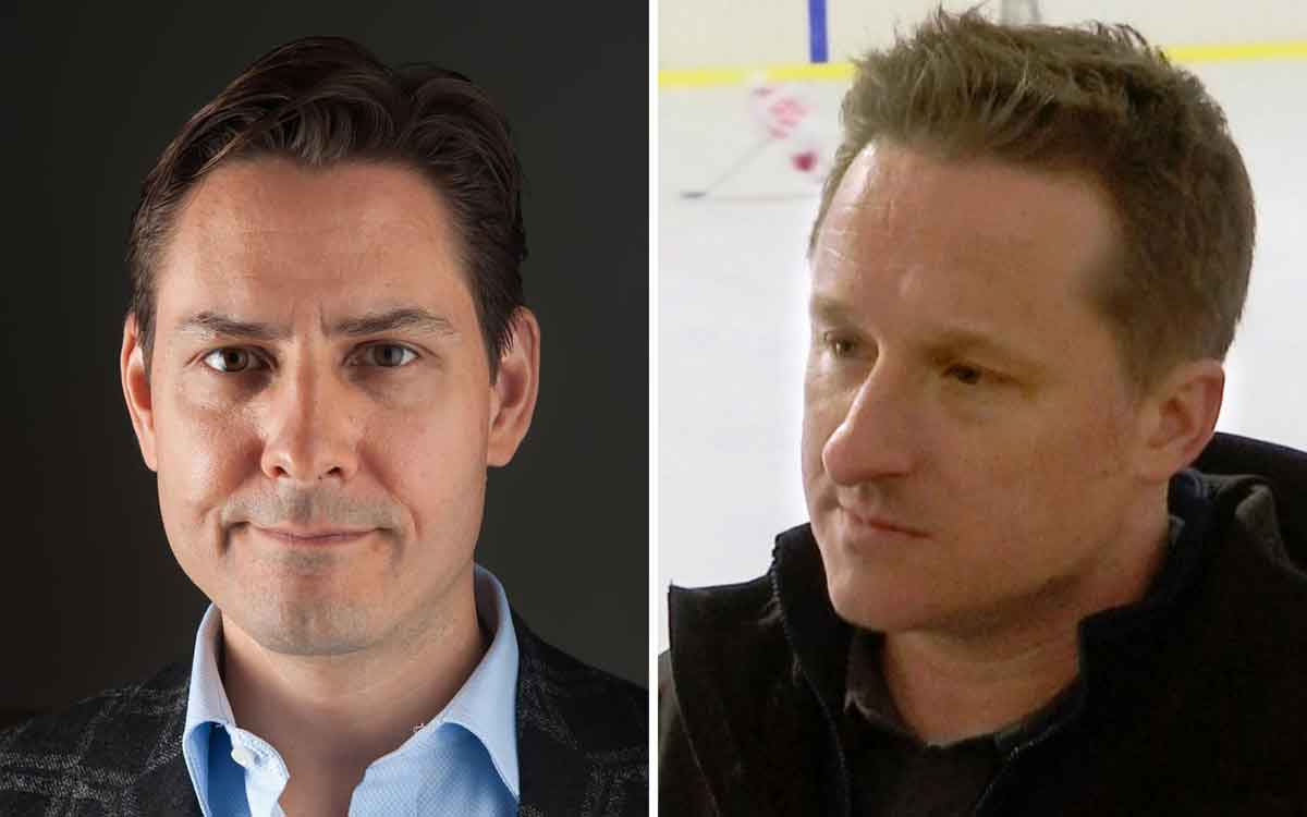 Michael Kovrig, left, a former diplomat, and Michael Spavor, an entrepreneur