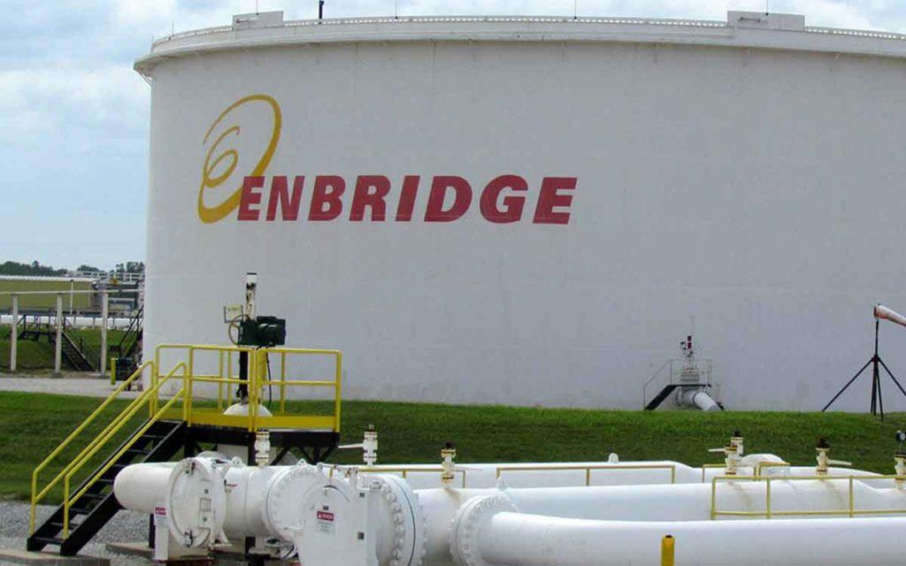 enbridge tank