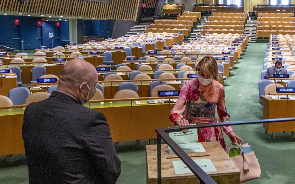 United Nations vote