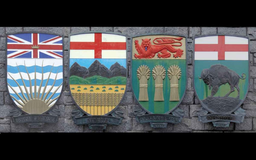 western canada shields