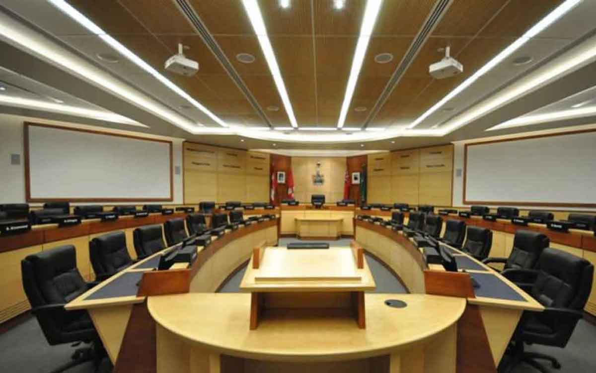 niagara region council chambers
