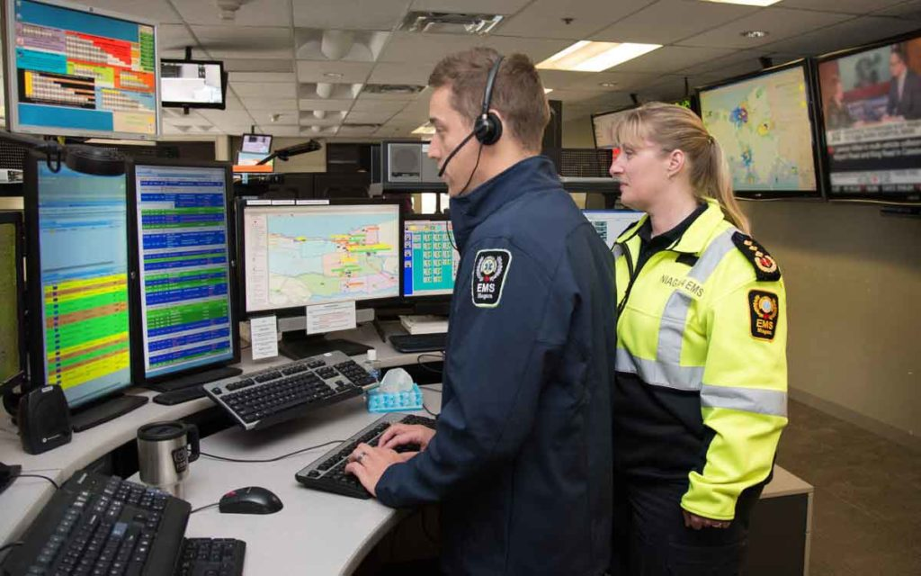 EMS dispatchers