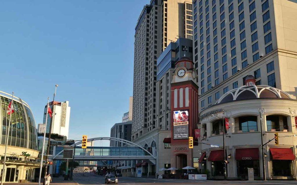 niagara falls casino and hilton