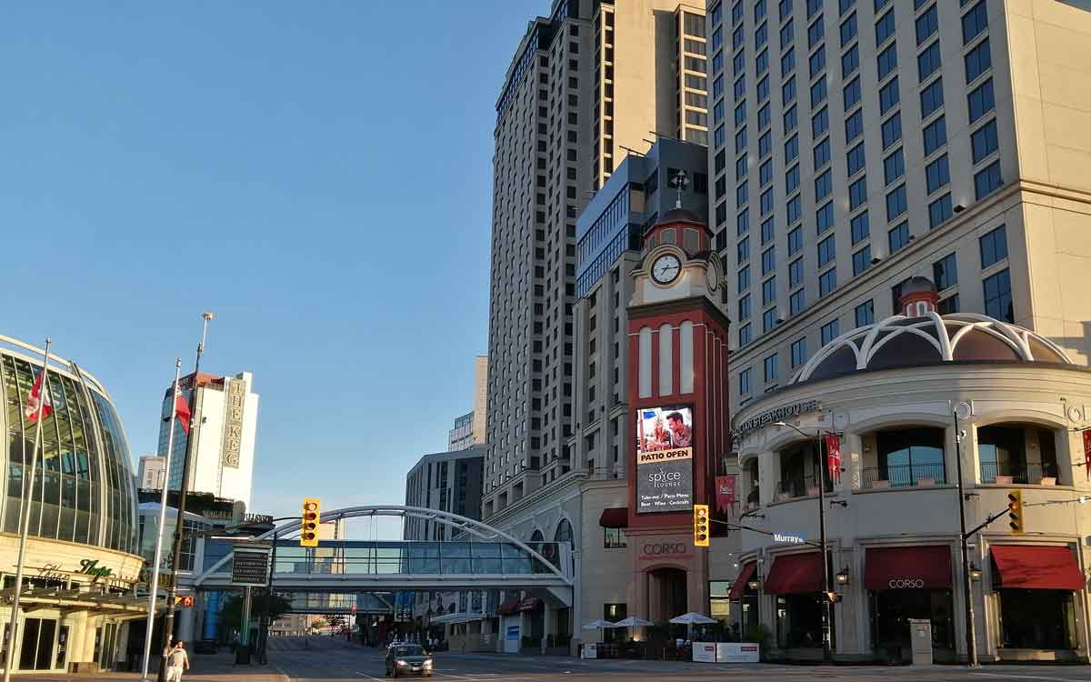 niagara falls casino and hilton
