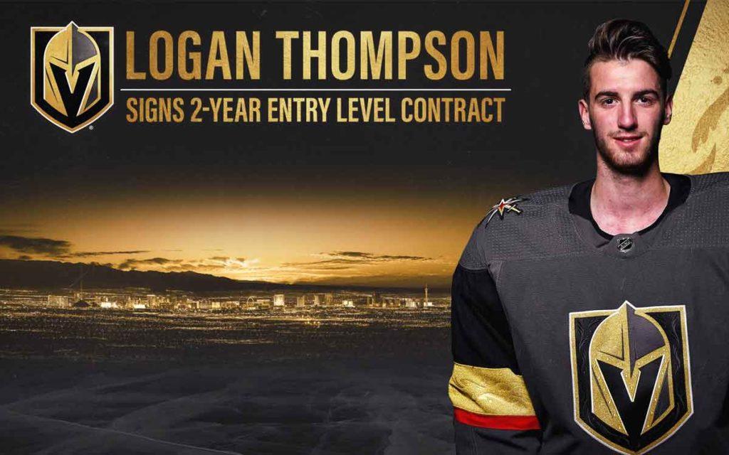 goalie Logan Thompson