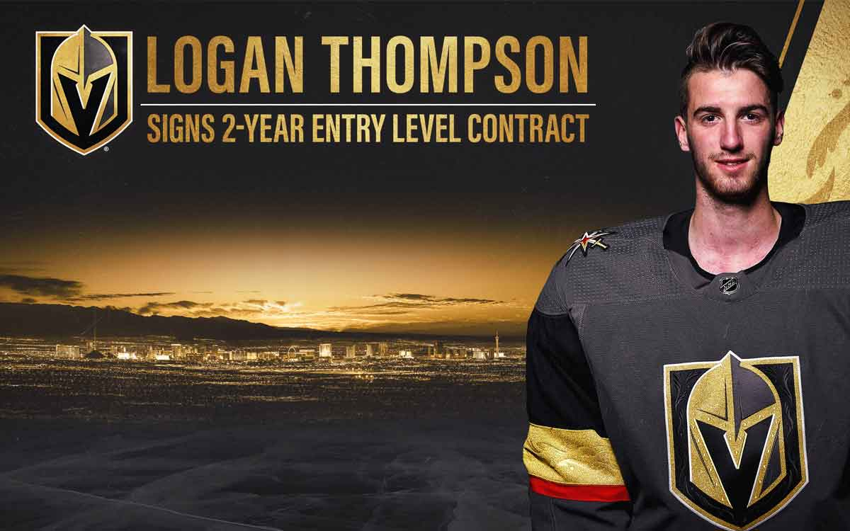goalie Logan Thompson