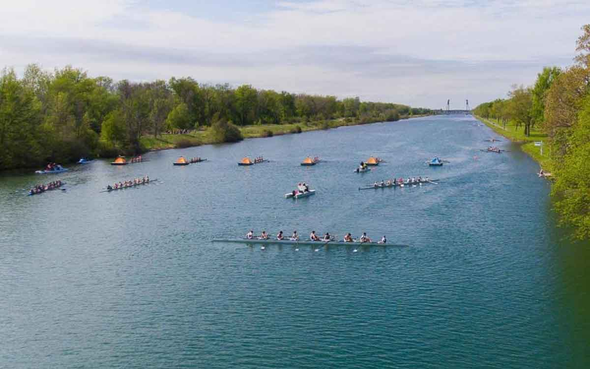 welland rowing course