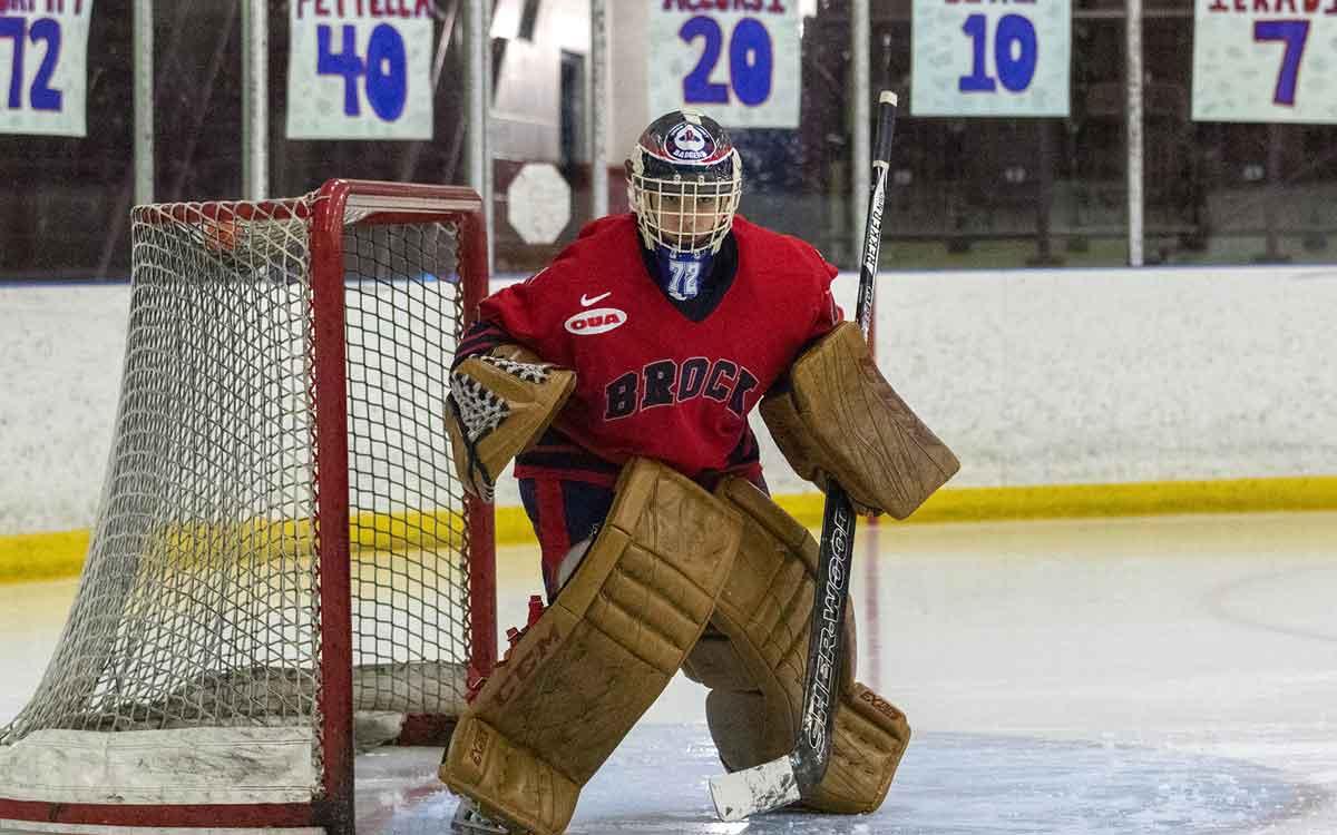 goalie Jensen Murphy