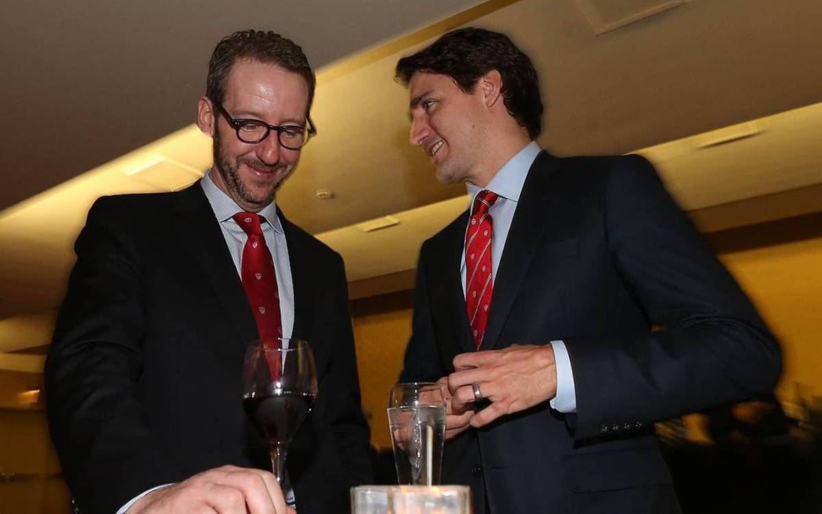 Gerald Butts and PM Trudeau