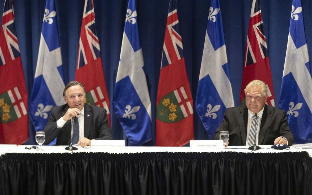 Premiers Ford and Legault