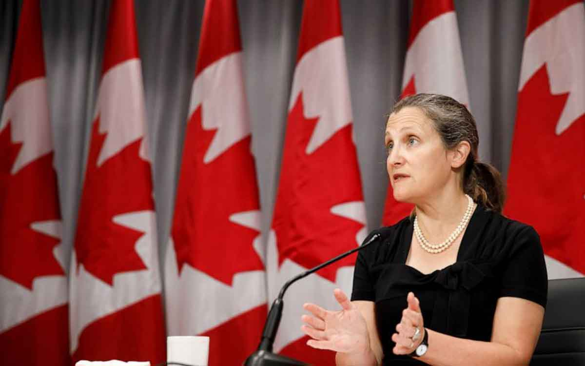 finance minster freeland