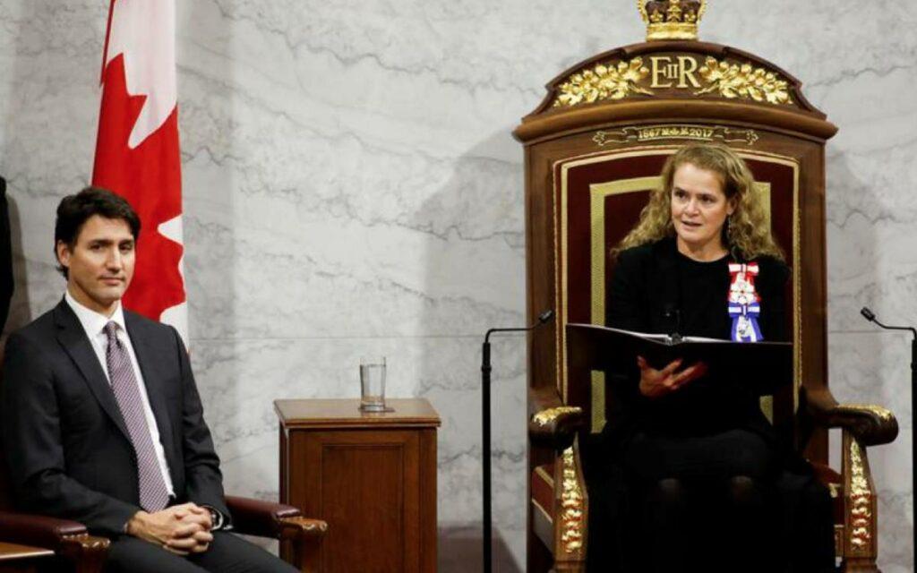 PM Trudeau and Gov. Gen. Julie Payette