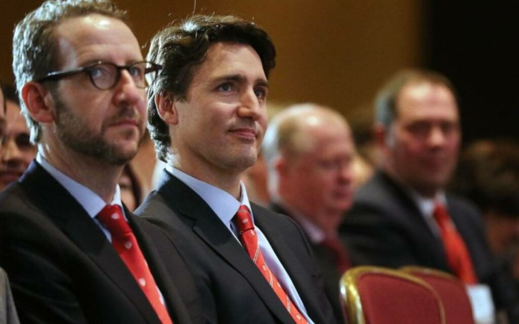 PM trudeau and butts