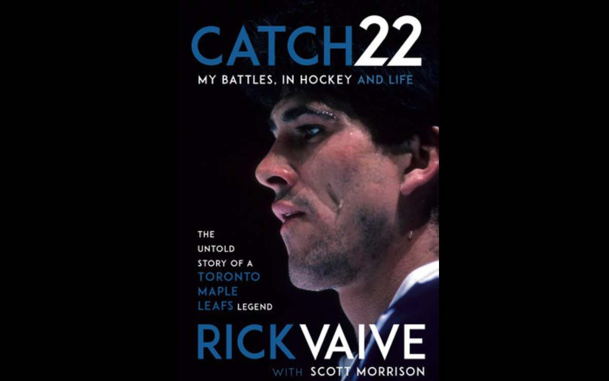 Rick Vaive book cover