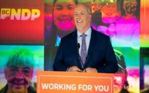 BC elects majority NDP government