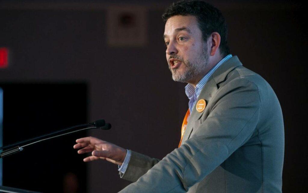 Gil McGowan, Alberta Federation of Labour president.
