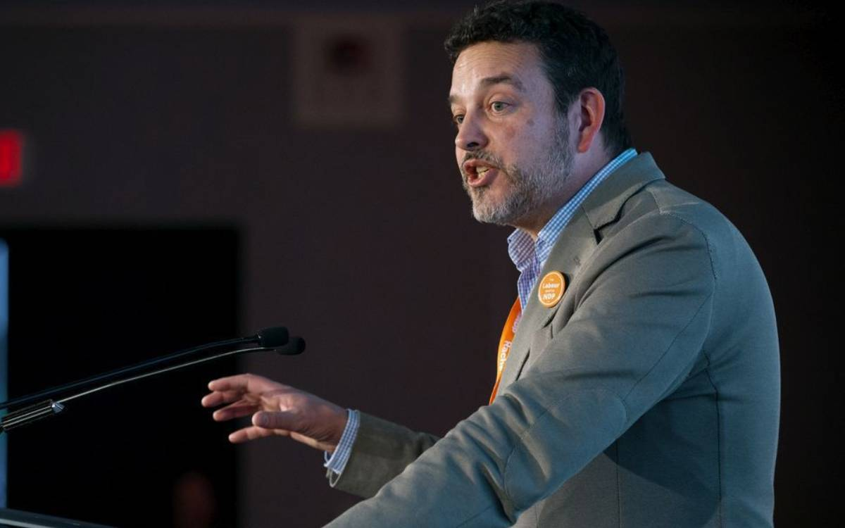 Gil McGowan, Alberta Federation of Labour president.