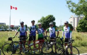 Local Rotarians pedal for polio