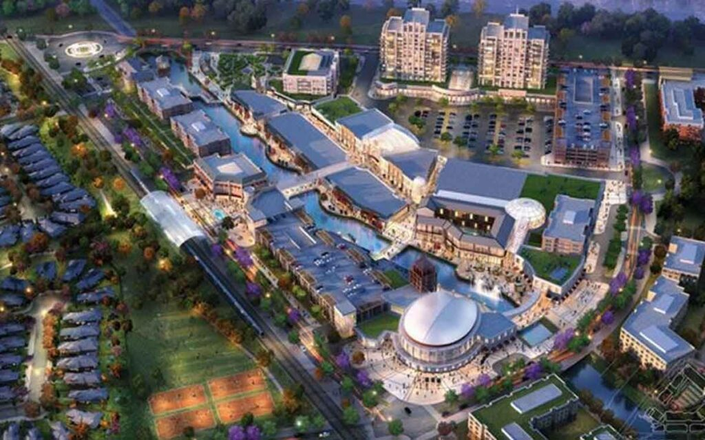 rendering of the proposed Paradise development in Niagara Falls