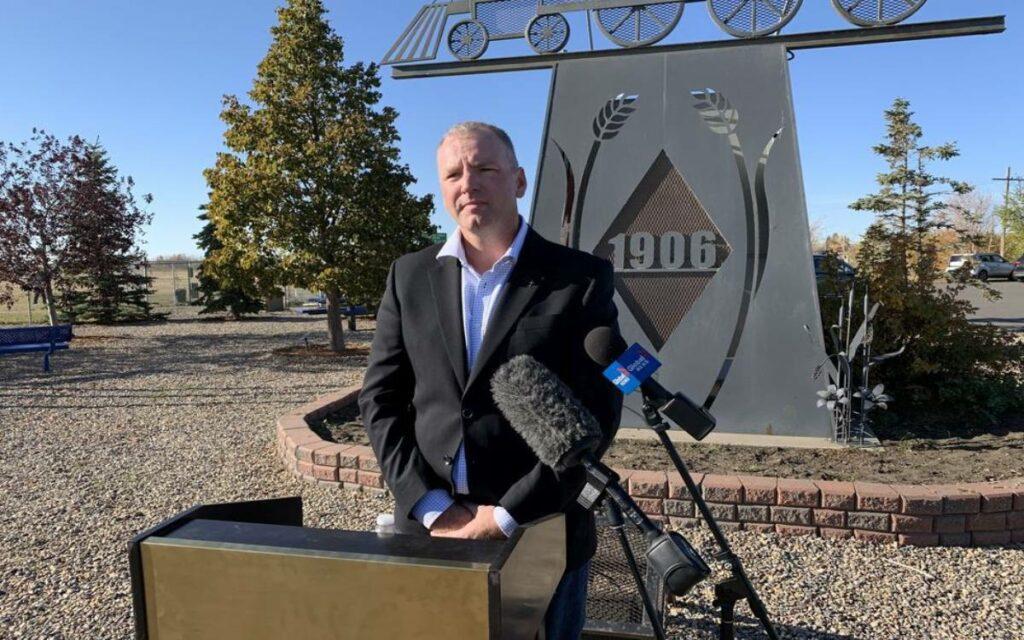 Wade Sira, interim leader of the Buffalo Party