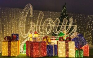 Massive Christmas lights display arrives at Safari Niagara