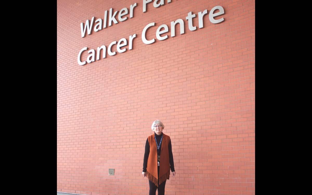 dr giesbrecht at the walker cancer center