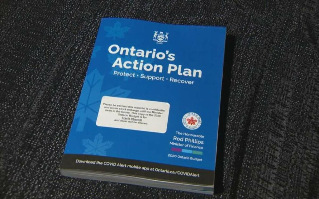 ontario action plan booklet