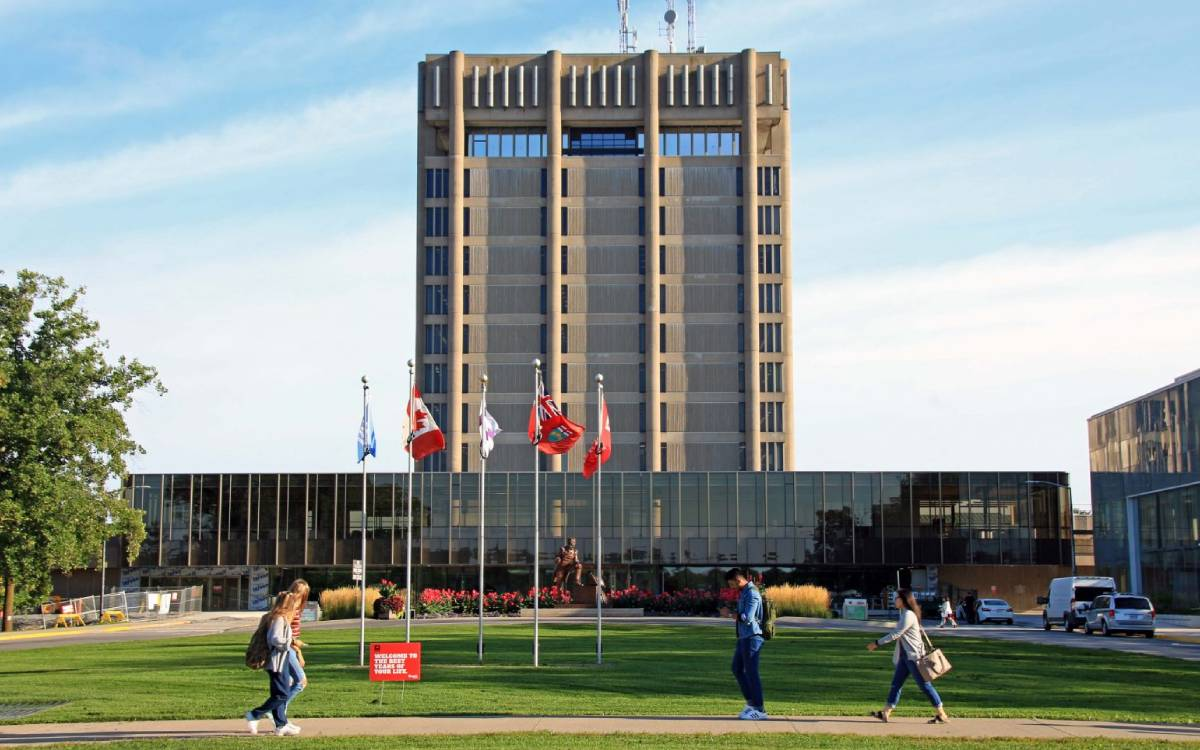 Brock University tower