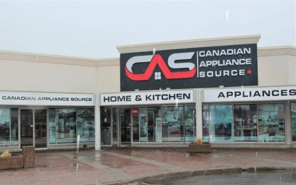 canadian appliance source store