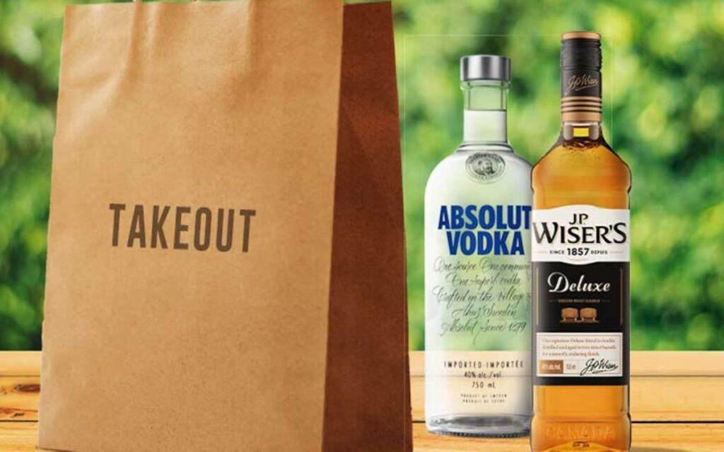 take out booze