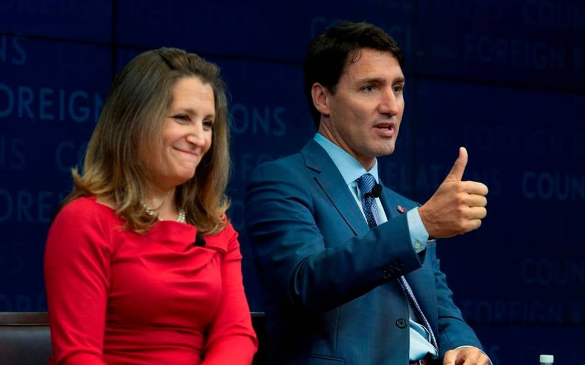 PM Trudeau and Minister Freeland