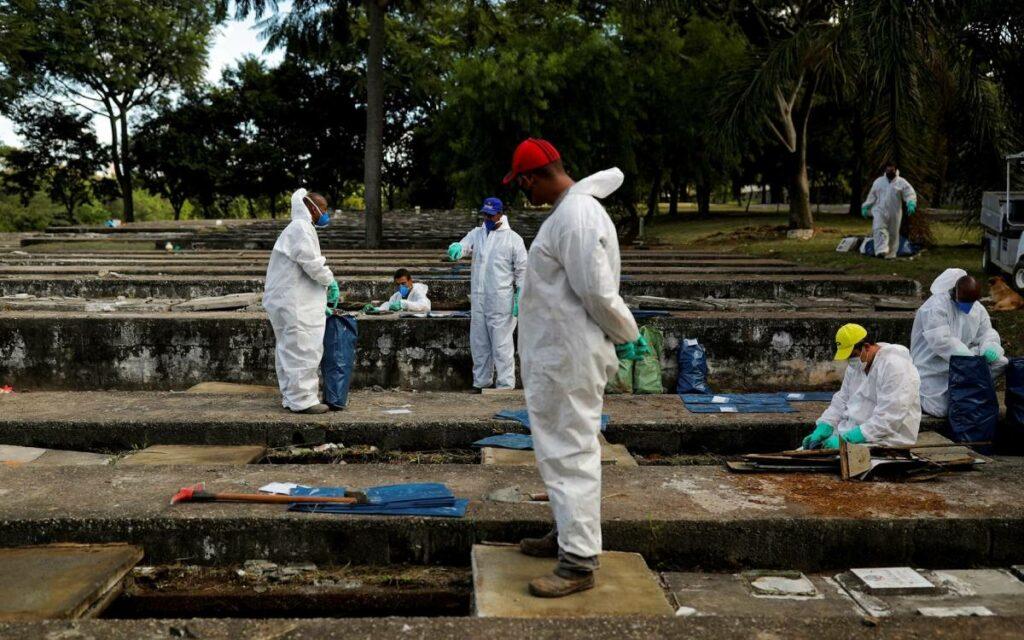 brazil grave site
