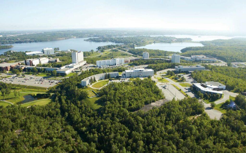 Laurentian University aerial view