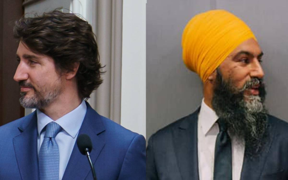 Trudeau and Singh