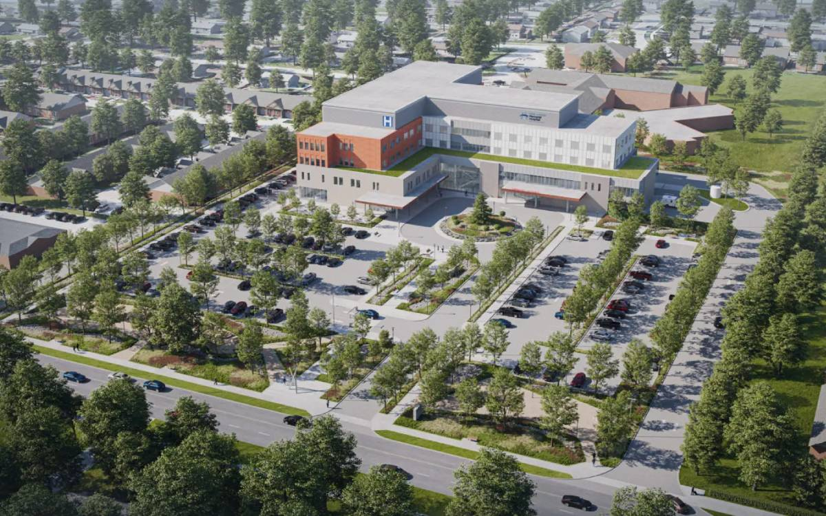 West Lincoln Memorial Hospital rendering
