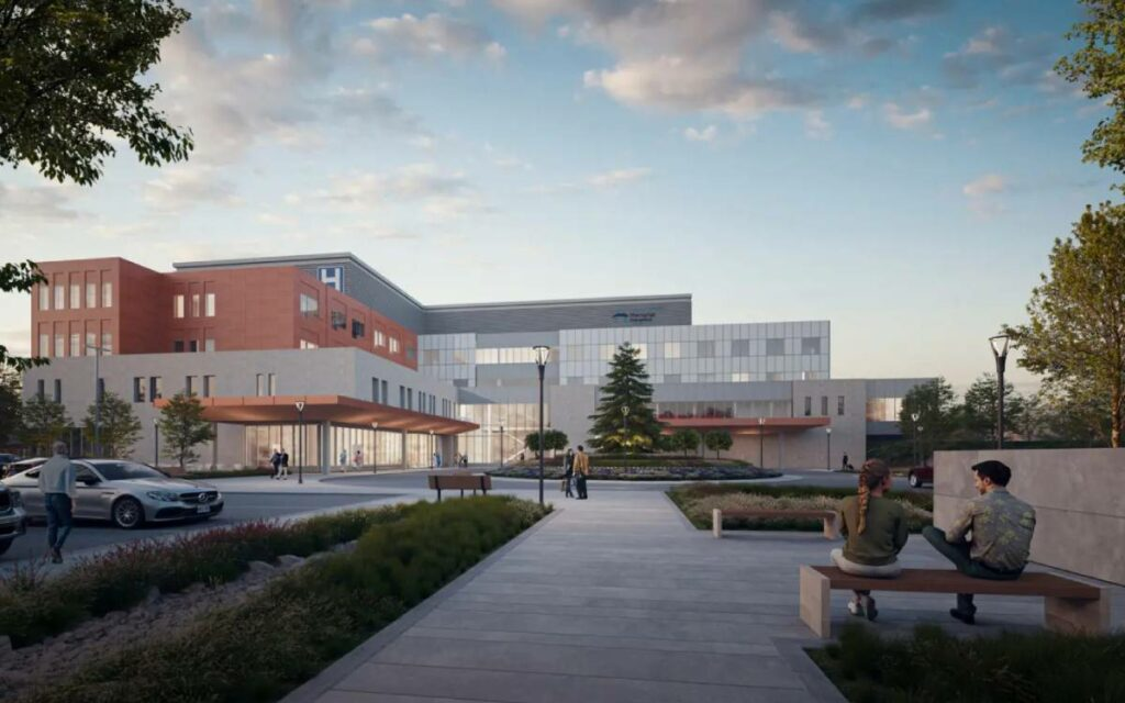 West Lincoln Memorial Hospital rendering