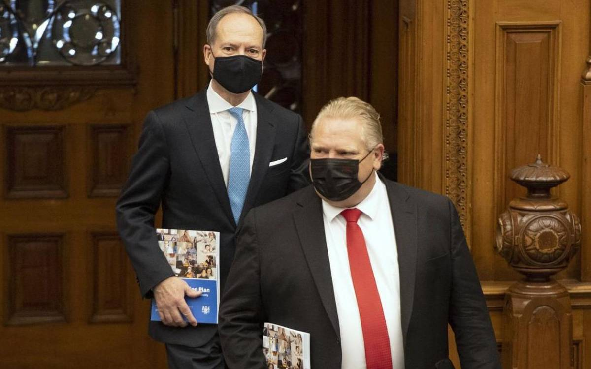 Premier Ford and Minister Bethlenfalvy