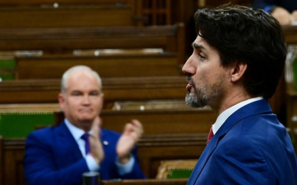O'Toole and Trudeau
