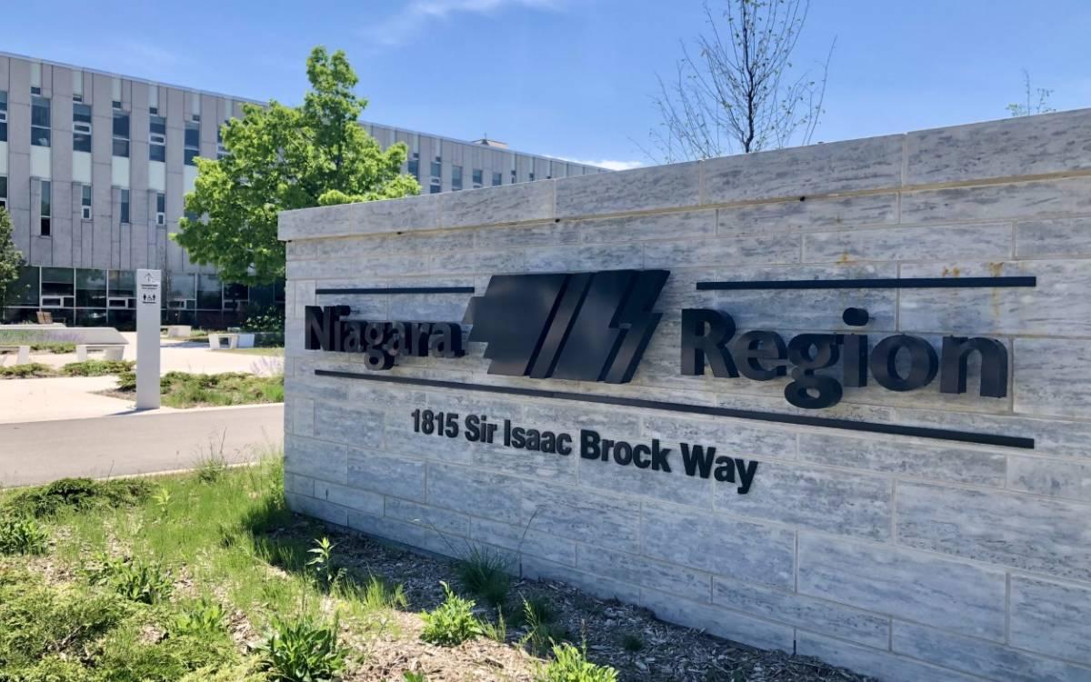 Niagara Region HQ sign
