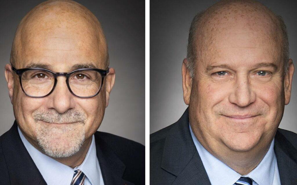 MP Tony Baldinelli and  MP Dean Allison