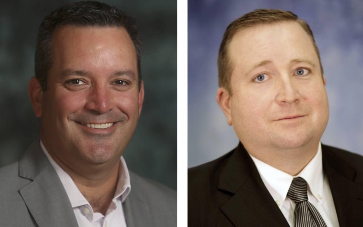David Oakes and Jason Burgess