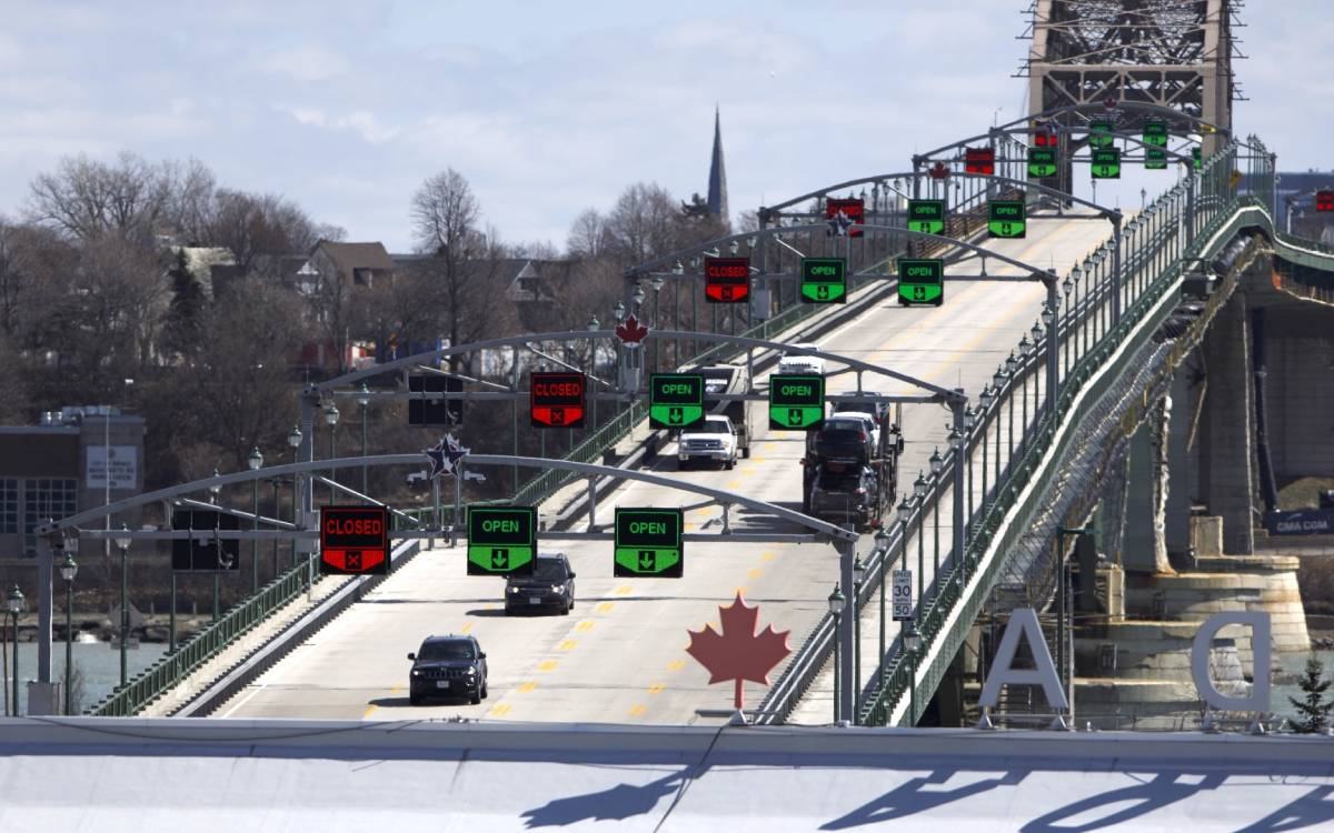Fort Erie Peace bridge