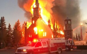 Religious freedoms burn in silence