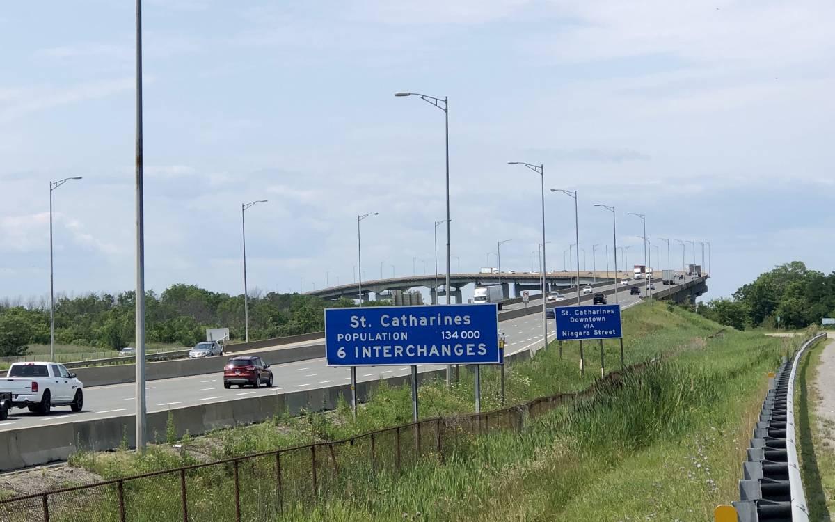 skyway bridge in st catharines