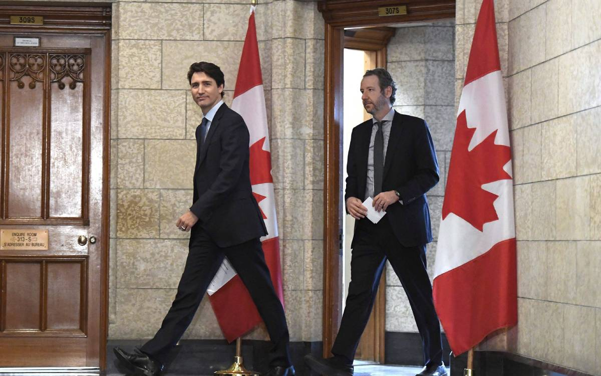 PM Trudeau and Gerald Butts