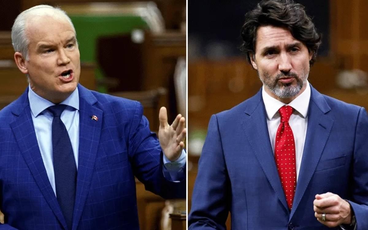 OToole and Trudeau
